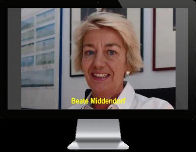 Beate Middendorf zu den Kunden-Service- & Service-Center-Spezialisten