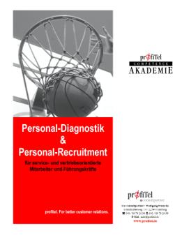 Broschüre Recruitment